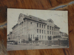 Arad Uj Polgari Iskola  Frank Vilmos  Kofarago Stonecutter  1910 - Romania