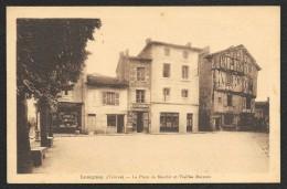LUSIGNAN Rare La Place Du Marché Et Vieilles Maisons (Boisnard) Vienne (86) - Lusignan