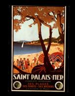 17 - SAINT-PALAIS-SUR-MER - Reproduction Affiche Chemin De Fer - Saint-Palais-sur-Mer