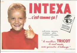 BUVARD TRICOT INTEXA - Blotters
