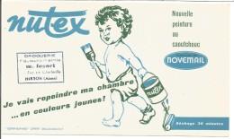 BUVARD PEINTURES NUTEX DE NOVEMAIL - Buvards, Protège-cahiers Illustrés