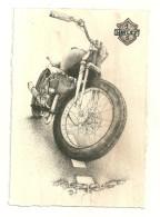 MOTO HARLEY DAVIDSON CARTE POSTALE MODERNE SERIE LIMITEE N° 1 ILLUSTRATEUR ETATS UNIS - Motorräder