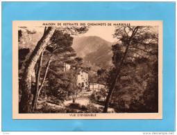 MARSEILLE--Saint  LOUP-Maison De Retraite Des Cheminots-dans Les Collines -édition Audry-nnées 30-40 - Cartes Postales