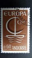 Andorra Franz. 198 Yt 178 Oo/used, EUROPA/CEPT 1966