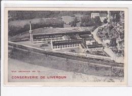LIVERDUN : Vue Aerienne De La Conserverie De Liverdun - Très Bon état - Liverdun