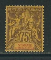 Ste. MARIE De MADAGASCAR N° 12 * - Madagaskar - Sainte-Marie (1894-1898)