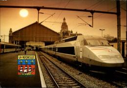 17 - LA ROCHELLE - Gare - Train - TGV - La Rochelle