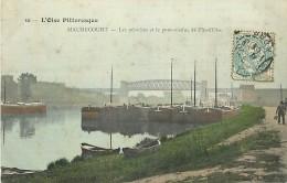 N-16 583 :  MAURECOURT.  LES PENICHES.  VOIE NAVIGABLE. - Maurecourt
