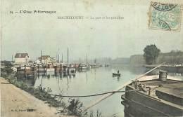 N-16 584 :  MAURECOURT.  LES PENICHES.  VOIE NAVIGABLE. - Maurecourt
