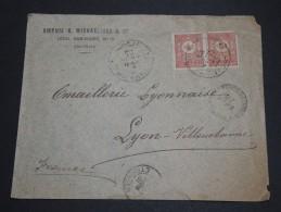 TURQUIE - Enveloppe Pour La France En 1901 - A Voir - L 1977 - 1837-1914 Smyrna