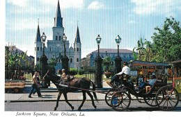 LOUISIANA---NEW ORLEANS---JACKSON SQUARE----voir 2 Scans - New Orleans
