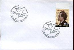 12612 Vaticano,  Fdc  2011  Gustav Mahler , Music Composer - Music