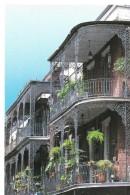 LOUISIANA---NEW ORLEANS--lace Balconies---voir 2 Scans - New Orleans