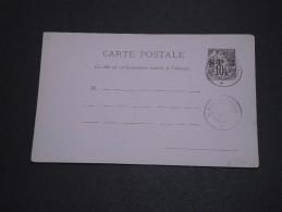 SAINT PIERRE ET MIQUELON - Entier Postal Avec Oblitération De St Pierre En 1892 - A Voir - L 1984 - Postal Stationery