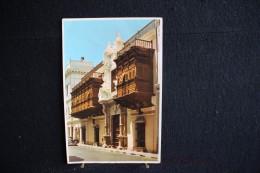 W - 493 - Lima - Pérou - The Tore Tagle Palace - Circulé 1966 - Pérou