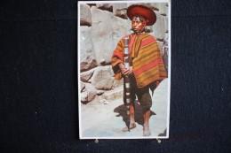 W - 494 -  Pérou - Cuzco - Native Mayor, Departmem Of Cuzco - Circulé 19? - Pérou