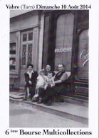 CPM (81) VABRE 6ème Bourse Multicollections 2014 Devanture Boucherie - Collector Fairs & Bourses