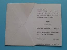MARC 2 Juni 1965 ( Schuermans-De Gang ) Willebroek ( Voir Photo Pour Détail ) ! - Birth & Baptism