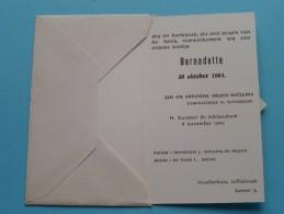 BERNADETTE 30 Oktober 1964 ( Broos - Willems ) Willebroek ( Voir Photo Pour Détail ) ! - Birth & Baptism