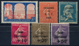 PROMOTION EXCEPTIONNELLE France Année Complète 1930 NEUF ** LUXE - Unused Stamps