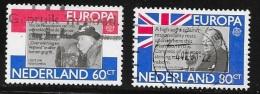 N° 1138 / 1139    EUROPA  PAYS BAS  -  1980 - 1949-1980 (Juliana)