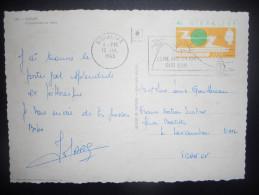 Gibraltar Carte De 1965 Pour Lavandou - Gibraltar