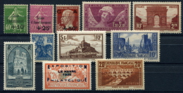 PROMOTION EXCEPTIONNELLE France Année Complète 1929 NEUF ** LUXE - Unused Stamps