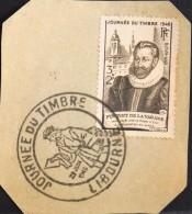 FR. - N° 754 Y & T - 1er JOUR 1946 - 3f + 2f Journée Du Timbre - ( GF ) - Libourne  Le 29.06.1946 - TBE. - FDC