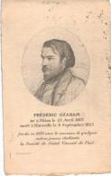 FREDERIC AZANAM .... CREA LA SOCIETE DE SAINT VINCENT DE PAUL - Unclassified