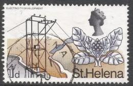 St Helena. 1968 Definitives. 1d Used. SG 227 - Saint Helena Island