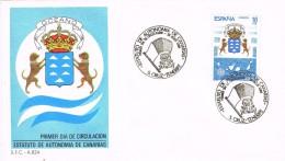 19129. Carta SANTA CRUZ TENERIFE (Canarias) 1984. Estatuto Autonomia - 1931-Hoy: 2ª República - ... Juan Carlos I