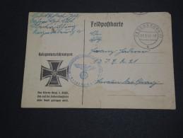 ALLEMAGNE - Carte De Franchise Militaire En 1941 - A Voir - L 2013 - Allemagne