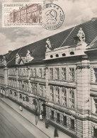 D25548 CARTE MAXIMUM CARD 1961 CZECHOSLOVAKIA - LENIN MUSEUM PRAHA CP ORIGINAL - Architecture