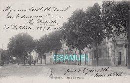 95 - Sarcelles Rue De Paris. - (voir Scan). - Sarcelles