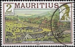 MAURITIUS 1978 Racecourse - 2r. - Multicoloured  FU - Maurice (1968-...)