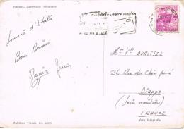 19132. Postal TRIESTE )Italia) 1952. Logan Poste Italiane - 6. 1946-.. Repubblica