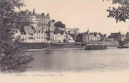 France Amboise Le Chateau Et Le Quai - Amboise