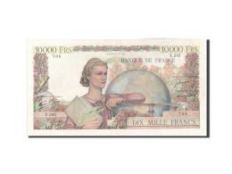 France, 10,000 Francs, 10 000 F 1945-1956 ''Génie Français'', 1946, 1946-10... - 1871-1952 Anciens Francs Circulés Au XXème