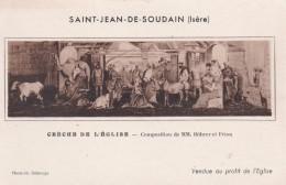 SAINT JEAN DE SOUDAIN - ISERE  -  (38)  -  CPA. - France