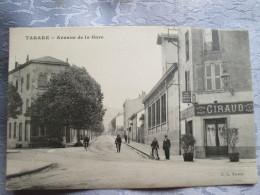 TARARE . AVENUE DE LA GARE  . BAR RESTAURANT GIRAUD - Tarare