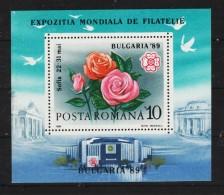 1989 - Expo Philatelique SOFIA  Mi No 253 - 1948-.... Republiken