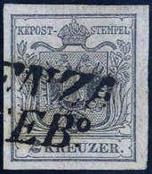 Gest. 2 Kr. Silbergrau, Type Ia, Breite Ränder, Mit L2 Von VICENZA Aus Dem Centesimi-Gebiet. Eine Perfekte... - Stamps