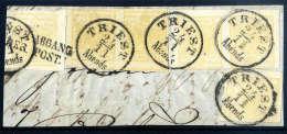 Briefst. 1 Kr. Kadmiumgelb, Type III, Waagerechtes Paar (oben Kleine Kerbe Ausserhalb Des Markenbildes Und Min.... - Stamps