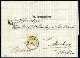 Beleg 1 Kr. Orange, Type III, Gute Bis Breite Ränder, übergehend Entwertet Mit Etwas Verwischtem K1 GRATZ... - Stamps