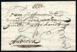 Linz, 1683, Vollst. Faltbrief Nach Antwerpen In Den Spanischen Niederlanden, Schöner, Früher Brief. - Stamps