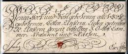 Kaiserinbrief, Maria Theresia (1717-1780), Vollständiger Faltbrief Aus Wien (1748) An Die Räte Von Graz. - Stamps