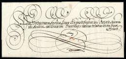 Vollständiger Faltbrief Von Erzherzog Leopold Wilhelm (1614-1662) Aus Oschersleben An Fürst August Zu... - Stamps