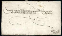 Kaiserbrief, Maximilan II (1527-1576), Vollständiger Faltbrief Von Wien (1565) An Den Bürgermeister Der... - Stamps