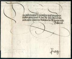 Kaiserbrief, Maximilian II (1527-1576), Vollst. Faltbrief Von Wien (1557) Mit Eigenhändiger Unterschrift An... - Stamps