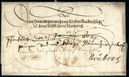 Vollständiger Faltbrief Von Erzherzog Karl II, Bruder Maximilian II Aus Graz 1567 An Den Abt Von Neuberg. Aus... - Stamps